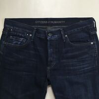 COH Citizens of Humanity RILEY Boy Boot BUTTON FLY Jeans SIZE 29 (B-107)