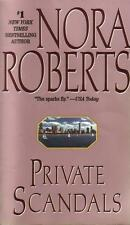 Private Scandals by Nora Roberts (1994, Paperback)
