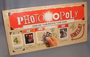 Photo-opoly Themed Monopoly Game - Your Life & Your Photos! Factory Sealed - NEW