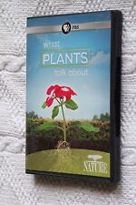 WHAT PLANTS TALK ABOUT (DVD), R-1, LIKE NEW (DISC: NEW), FREE POST IN AUSTRALIA