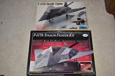 1/32 TESTORS 2 F-117A STEALTH FIGHTER Kits #570 & 975