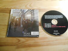 CD Indie oro CHAINS-The Game (3) canzone PROMO Play It Again Sam PIAS CB