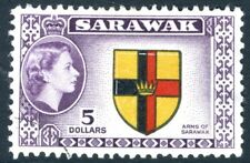 Sarawak - 1957 $5 G 202 BELLE USATO V19305