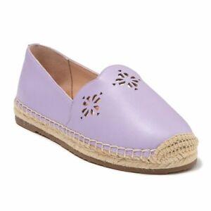 Kate Spade Womens Purple Gillian Espadrille Platform Slip-On Flat Shoes Size 10M