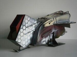 Custom diorama - Star Wars GI Joe Acid Rain 3.75 in. Space ship - handmade GREAT