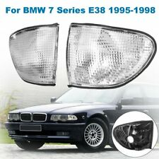 Fits for 1995-1998 BMW E38 7-SERIES FRONT CORNER TURN SIGNAL LIGHTS LAMP CLEAR