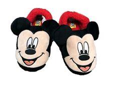 Disney Mickey Mouse Toddler Boys' Slip-on 3D Face Slippers: 7/8- 11/12
