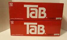 2 Tab Cola 12-Pack Soft Drinks Unopened & Discontinued