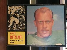 1962 Topps Philadelphia Eagles Pete Retzlaff SP Card#120