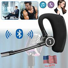 Handsfree Bluetooth Headset Wireless Headphone For Samsung S10 S9 Motorola Lg G6