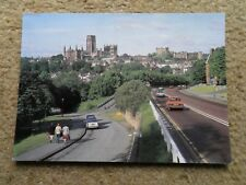 JUDGE.POSTCARD.DURHAM CITY FROM GILESGATE THROUGH ROAD. POSTED.1985.