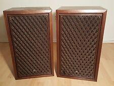 Sansui Vintage Speakers Model SP-2000 26H/12.5D/15W.