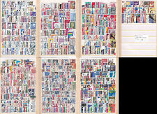 1020 different world wide stamps NEW lot