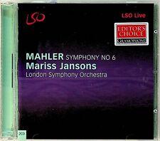 Mahler-Symphony No 6- LSO Live 2-CD -Mariss Jansons (London Symphony Orchestra)