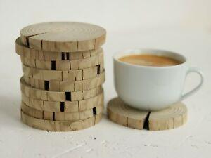 1-100pcs 10cm Driftwood Wood Slice Rustic Wedding Table Craft Decor log Coasters