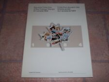 Complete Canada Souvenir Collection Book and Stamps for 1984 in Presentation Box
