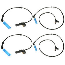 4pcs ABS Wheel Speed Sensor Front Rear Left Right for BMW E46 Z4 323i 318i