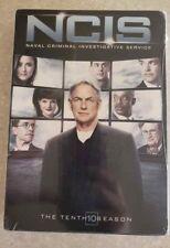 NCIS: The Tenth Season (DVD, 2013, 6-Disc Set) Season 10 BRAND NEW & SEALED