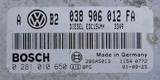 TUNED !!! VW GOLF ECU 1.9 TDI 90 ALH 038906012FA IMMO OFF PLUG&PLAY