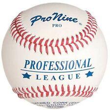 PRONINE PROFESSIONAL  LEAGUE BASEBALLS (DOZEN) PRO