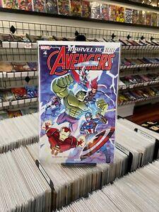 Marvel Action Avengers 3 V1 Chad Thomas 1:10 Variant Cover - IDW Publishing