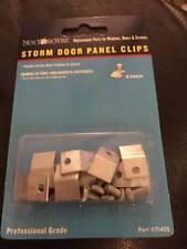 New York Wire 8-Piece Storm Door Panel Clips 71455 New!!!