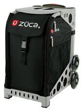 ZUCA Bag OBSIDIAN Insert & Gray Frame w/Flashing Wheels - FREE SEAT CUSHION