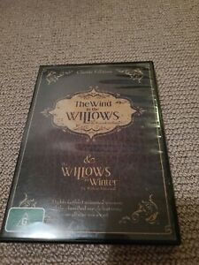 The Wind In The Willows & The Willows In Winter DVD Region 4 PAL Classic Edition