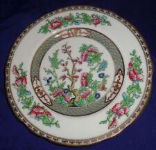 "BR1858 Coalport China Indian Tree Salad Plate 7-7/8"" Scalloped Edge"