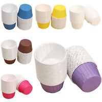 1X(50X Paper Baking Cup Cake Cupcake Cases Liners Muffin Dessert Wedding Pa P5E3