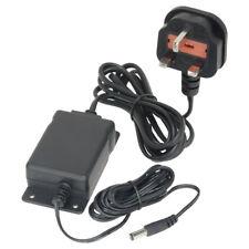 Professional 1 Amp regolato 12 volt DC alimentatore con flange di montaggio a parete