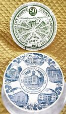 Missouri Collector Plates Kansas City Anniversary & Clay County Sesquicentennial