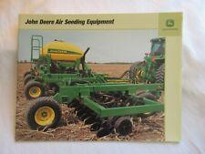 John Deere Air Seeding Equipment No Till Drill Soybean Special Brochure