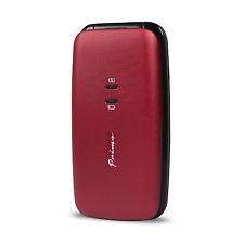 "Doro Primo 401 2"" 74g Black Red Entry-level Phone 360072"