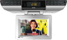 New ListingPhilips 7-Inch Digital Tv Clock Radio Ajl750/37