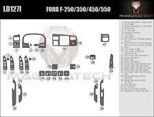 Fits Ford F250 F350 Superduty 2005-2007 W/Auto AC Large Wood Dash Trim Kit