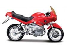 BMW R1100 Rs Rojo Escala 1:18 Modelo de Motocicleta Von Maisto
