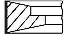 Mahle Piston Ring Kit For Deutz Fahr Askam Maz Otokar Guleryuz As 950 21304975
