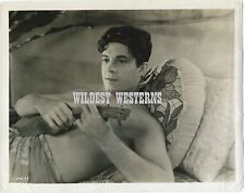 RAMON NOVARRO gay interest UKULELE Photo VINTAGE ORIGINAL shirtless THE PAGAN