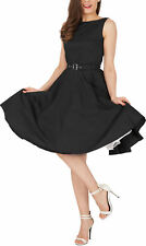 'Audrey' Vintage Clarity Vintage 50's Rockabilly Swing Prom Evening Dress
