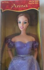 "The King and I Playmates ANNA Doll 11.5"" Auburn Hair New Unopened Box 1999 RARE"