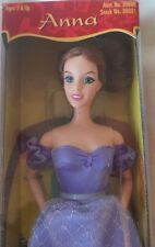 "The King and I Playmates ANNA Doll 11.5"" Auburn Hair New Unopened Box 1999 RARE"
