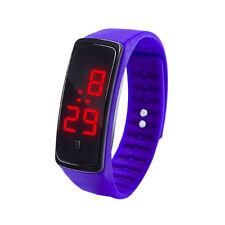 Children Kids Unisex Digital LED Sports School Boys Girls Waterproof Wristwatch