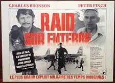 Affiche cinéma originale   Raid sur Entebbe  format 40 x 60