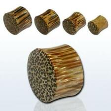PIERCING TUNNEL COCONUT WOOD PLUG 3,4,5,6,5 u.8mm