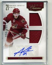 2011-12 Rookie Anthology Andy Miele Autograph Dual Jersey Rookie Treasures /499