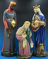 Indoor Outdoor Wisemen for Nativity Set or Scene