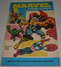 Marvel Comic Album (World Distributors) Thor Iron Man Hulk (Fn-) Rare Uk Edition