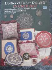 Doilies & Other Delights In Crochet Heirloom Look Pillow Doily Coaster