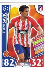 Stefan Savic 2017-18 Topps Champions League Match Attax,Cartas Coleccionables ,#
